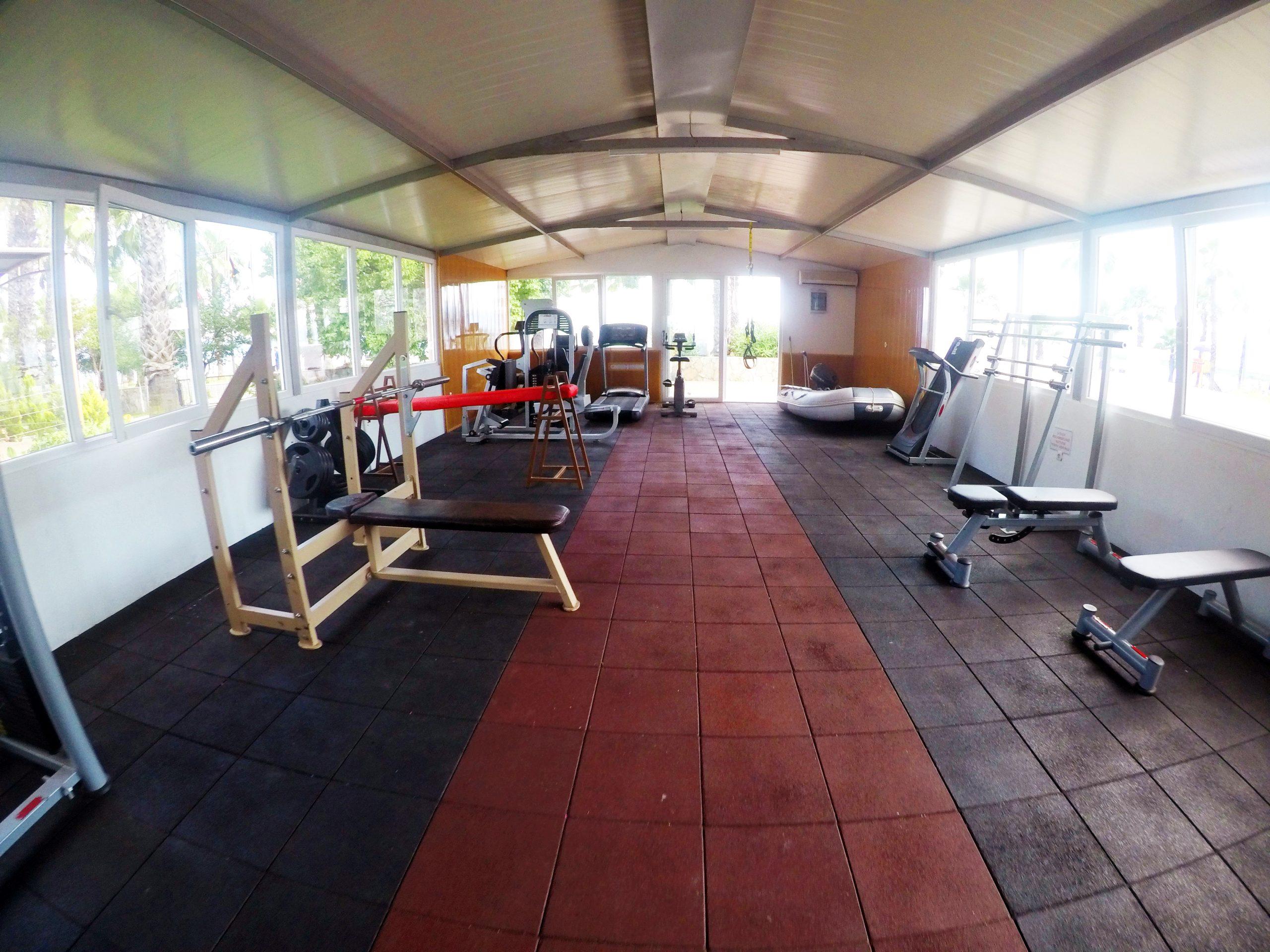 Panorama Plaza Hotel Ausstattung Fitness